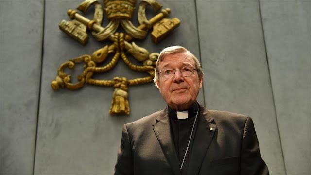 Cardenal australiano acusado de abusos sexuales contra niños