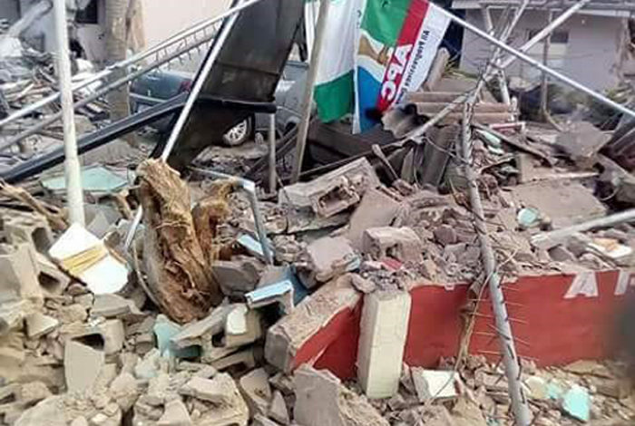 el rufai demolish apc secretariat building
