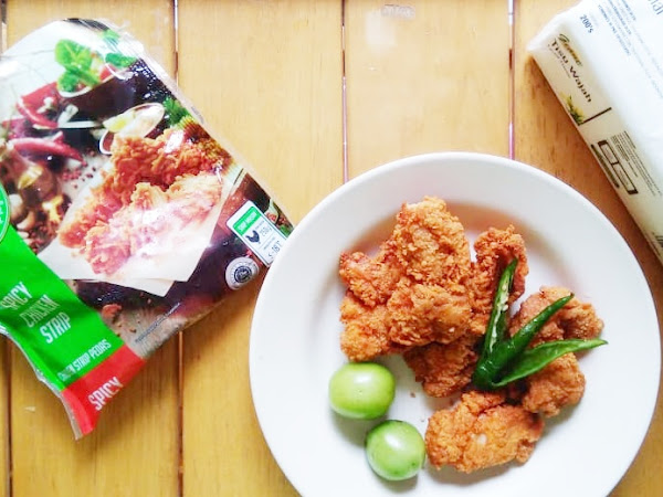 Sensasi Pedas dari So Good Spicy Chicken Strip