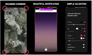 Cara Mendapatkan Fitur Edge lighting di Galaxy S8 dan S9 di ponsel Android Anda
