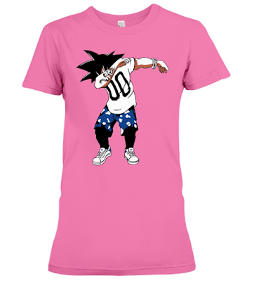 Super Saiyan Goku Dab Dance T Shirt and Hoodie