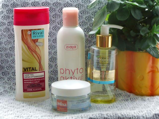 Kosmetyki pielęgnacyjne do twarzy, które zużyłam.