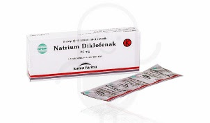 Obat sakit gigi Natrium Diclofenac