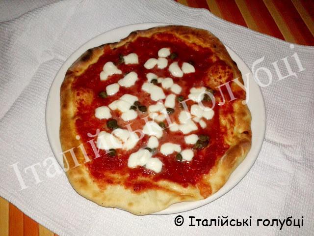 італійська піца рецепт