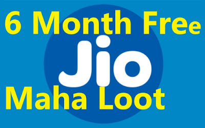 Jio 6 Month Free Recharge