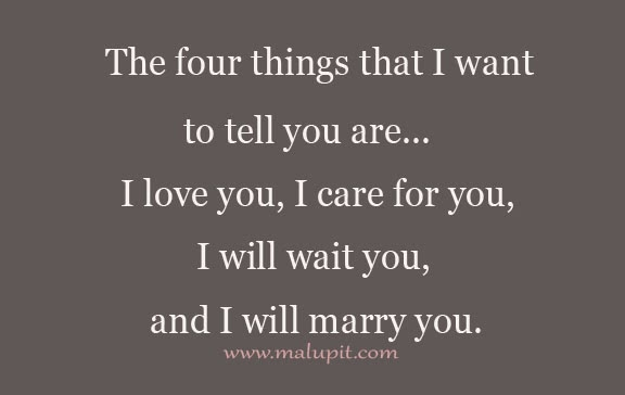 Love Quotes Four Things Life Quotes Love Life Quotes