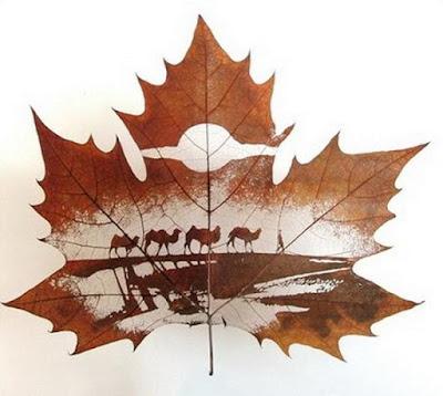Leaf Carvings