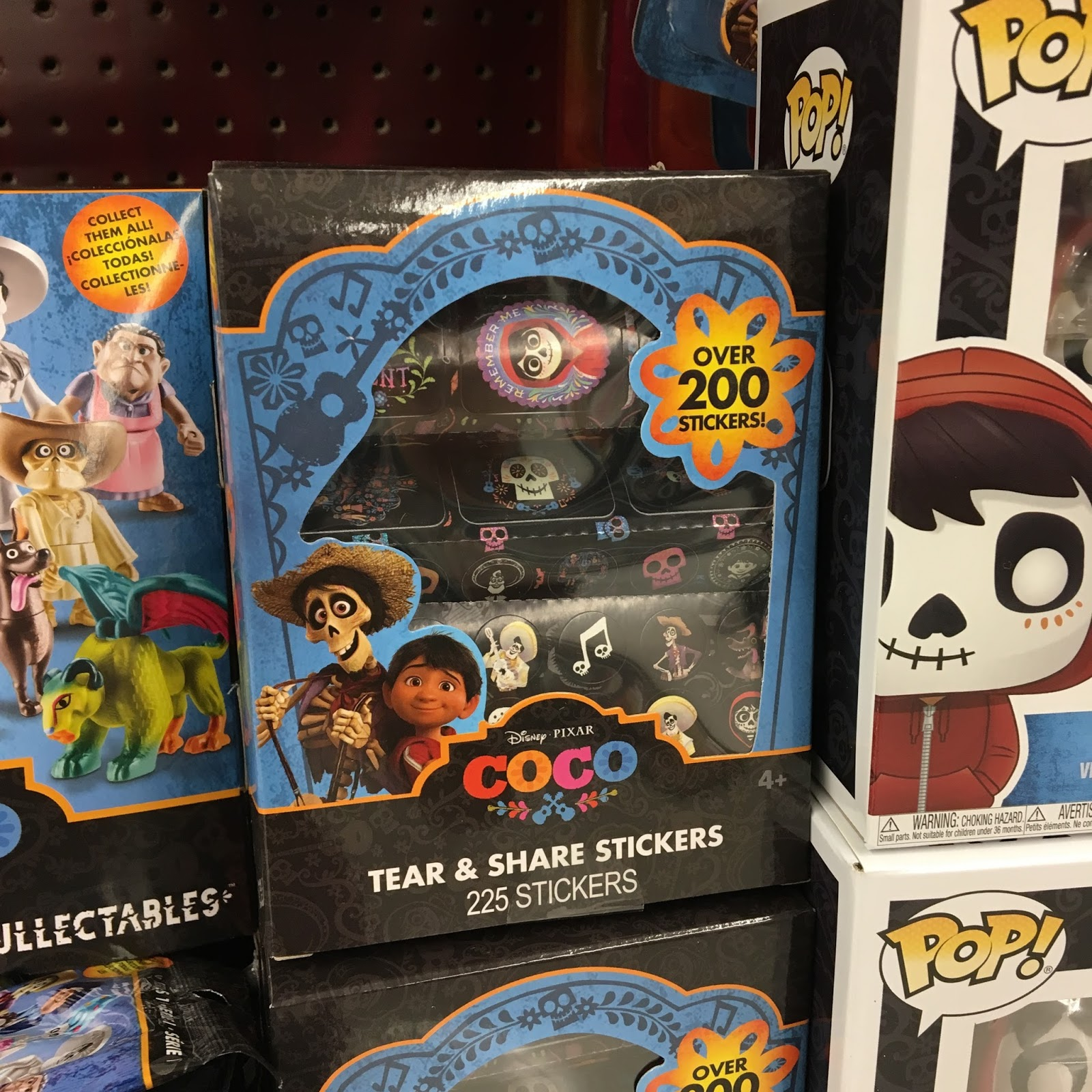 pixar coco stickers