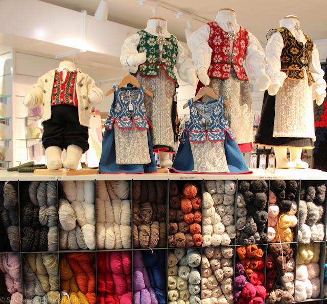 Yarn shopping Norsk Flid Trondheim