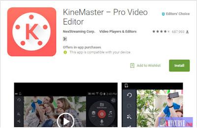 Kine master Editor Video