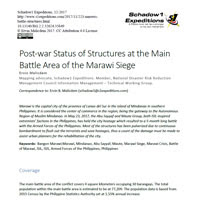 Post War Marawi Tech Report Thumb