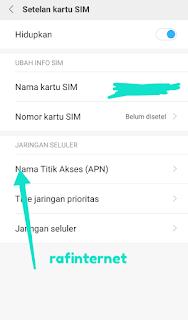 APN Axis sakti : cara setting APN Axis terstabil dan tercepat (3g & 4g) di android