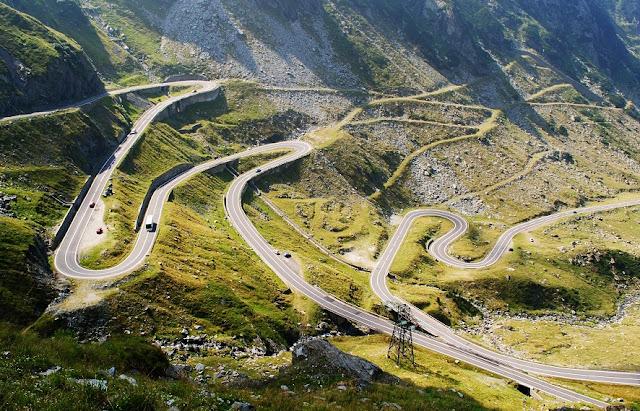 Estradas de carro na Espanha