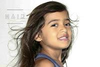natural hair of 8 year old girl