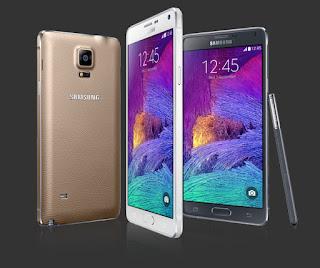 Cara Flash Samsung Galaxy Note 4 SM-N910H