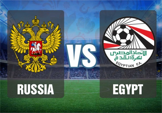 Russia vs Egypt - World Cup 2018