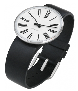 watch with Roman numerals