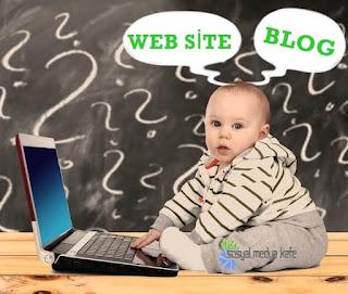Web Sitesi Ve Blog Arasındaki Farklar