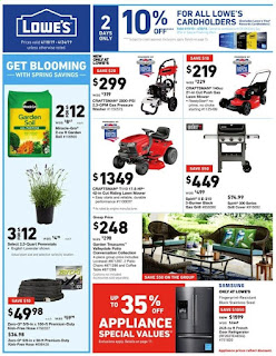 Lowe's Weekly Ad April 18 - 24, 2019