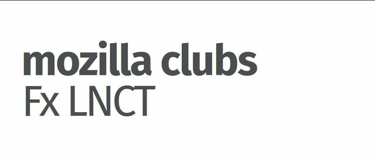 Mozilla Club LNCT