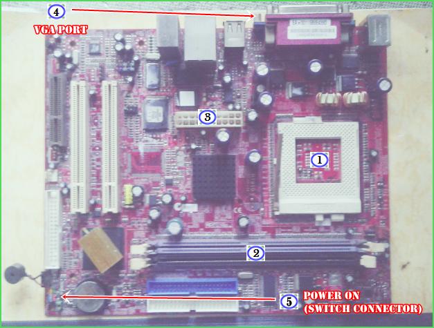 Belajar Mengenal dan Merakit Sendiri PC Desktop Komputer dengan Motherboard M791G (Versi 1.0A)