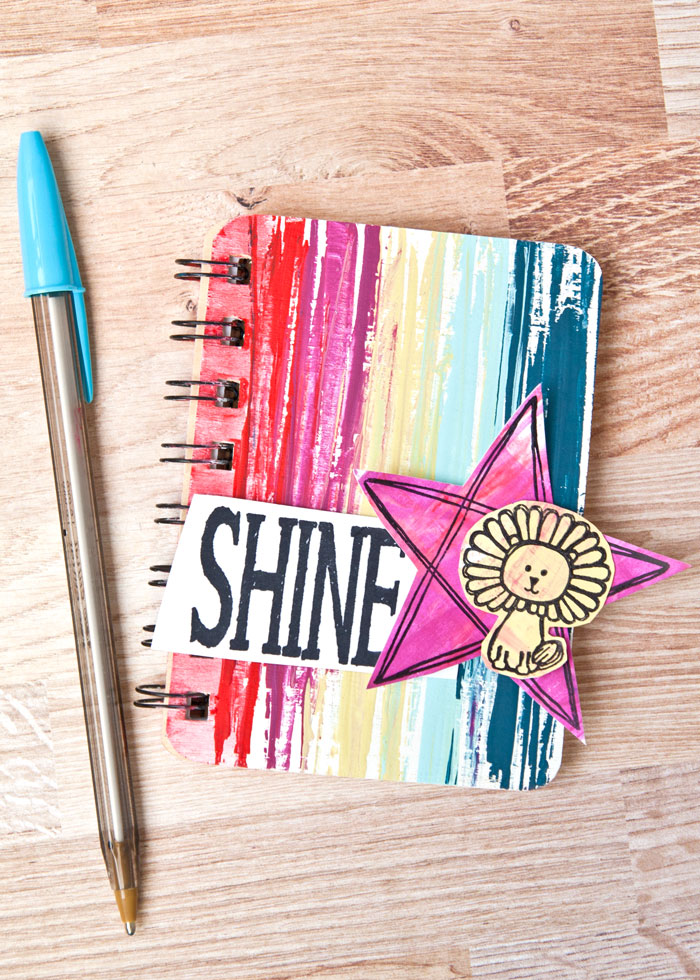 Decorate notebook by Kim Dellow