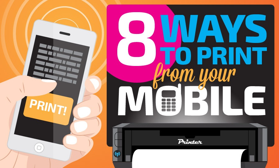 8 Apps To Print From Your Mobile - #infographic