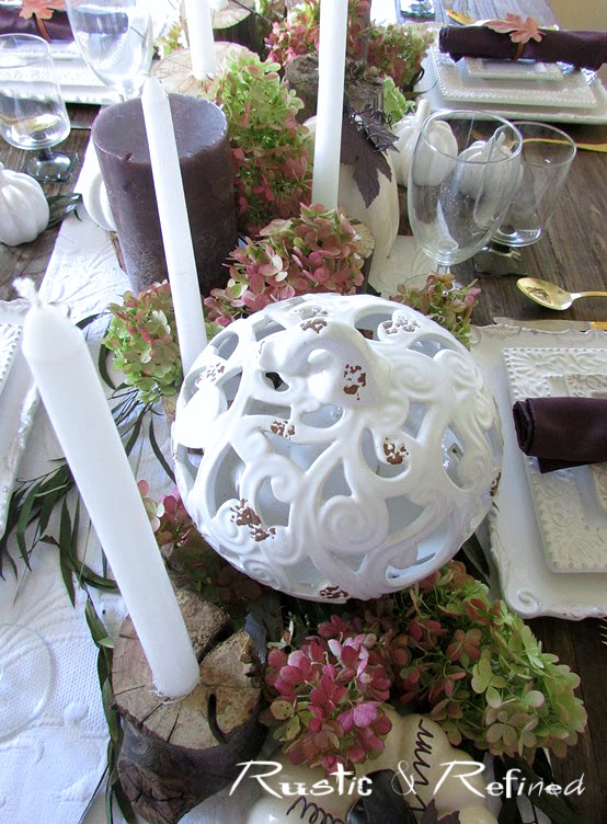 Woodsy Tablescape
