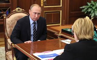 В ходе рабочей встречи с Министром здравоохранения Вероникой Скворцовой