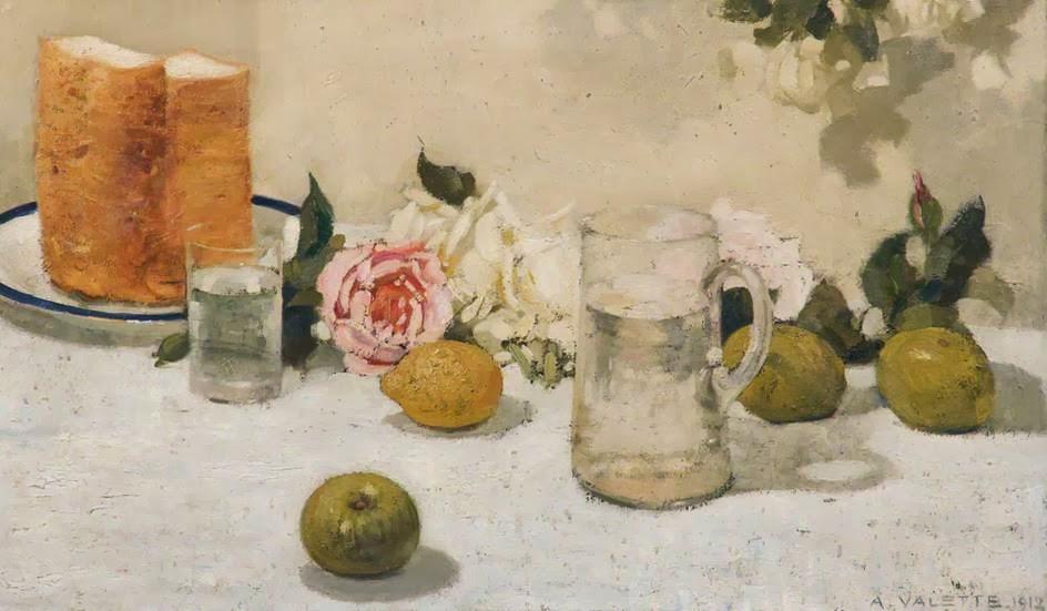 Adolphe  Valette    Still  Life C  Fruit