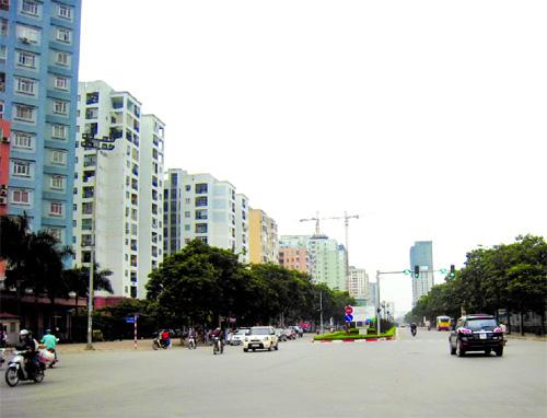 Tuyến đường quận Thanh Xuân