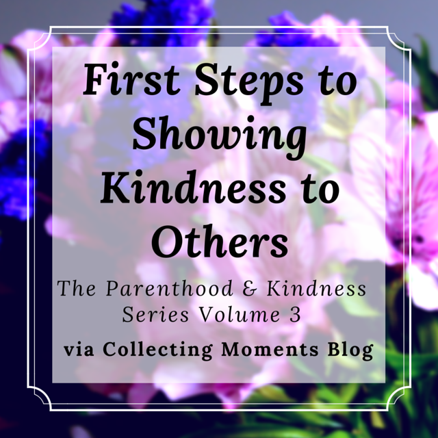 How good manners and leading by example can lead to kindness in children and others