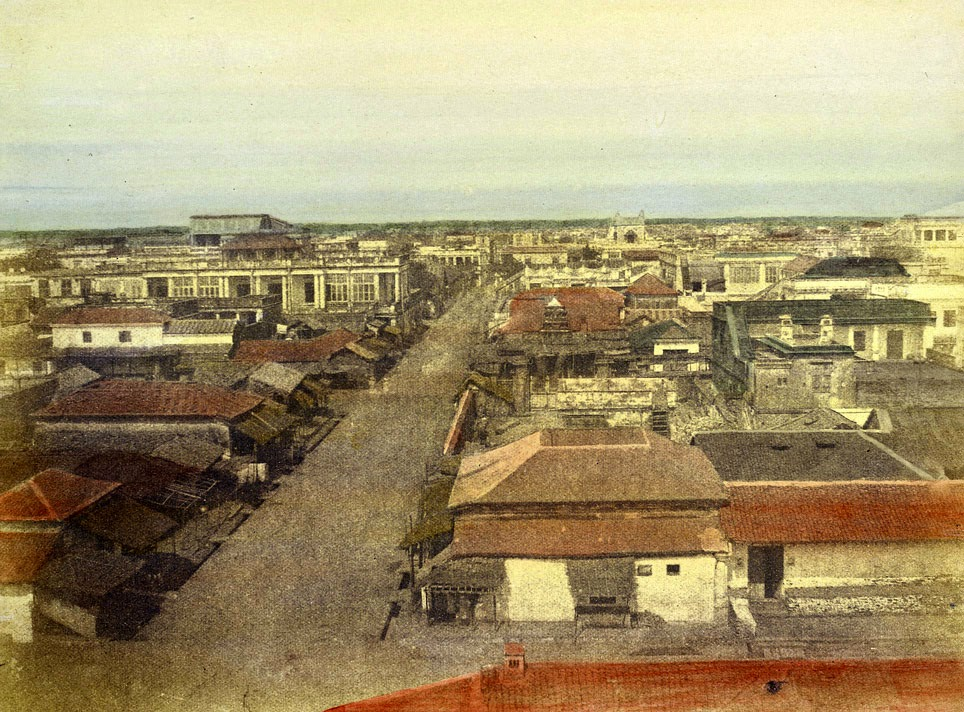 White-black towns,Madras (Chennai), Tamil Nadu - Navrang India