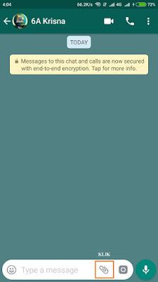 Mengirim Foto Agar Tidak Pecah Di Whatsapp