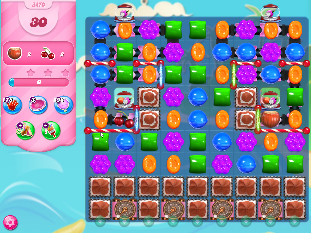 Candy Crush Saga level 3470