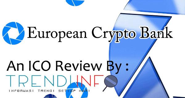ICO Review European Bank Crypto