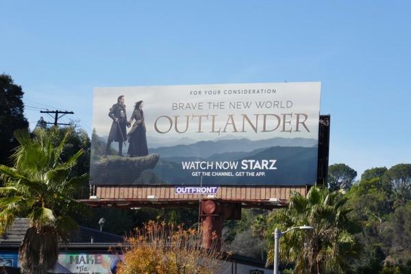Outlander season 4 For your consideration billboard