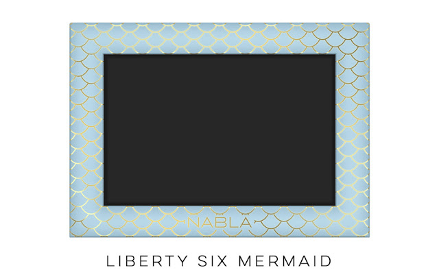 Libertu Six mermaid Mermaid Collection di Nabla Cosmetics