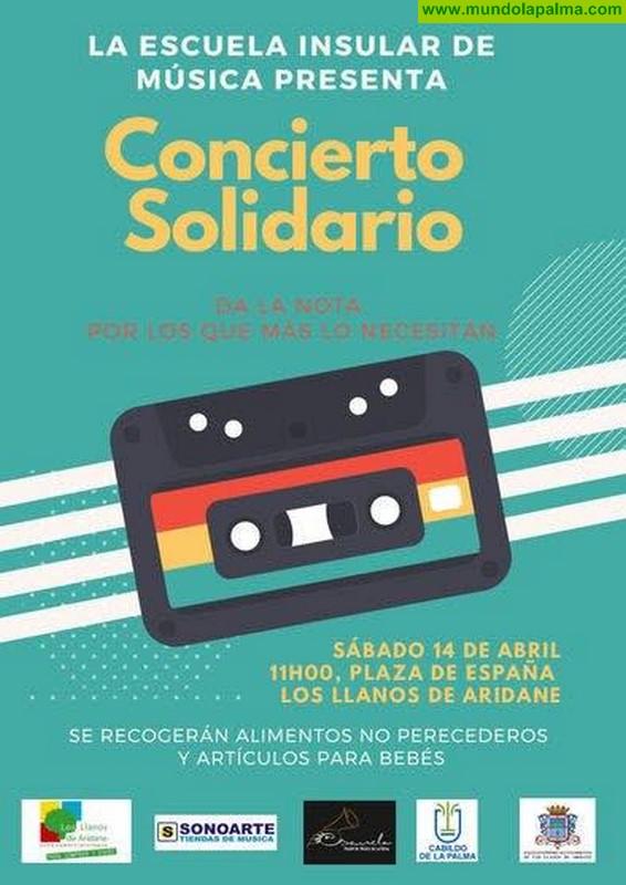 La Escuela Insular de Música celebrará el sábado un concierto solidario en Los Llanos de Aridane
