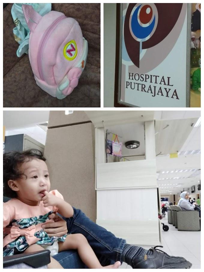 Medical Check Up Aina di Hospital Putrajaya - 1 tahun 4 bulan