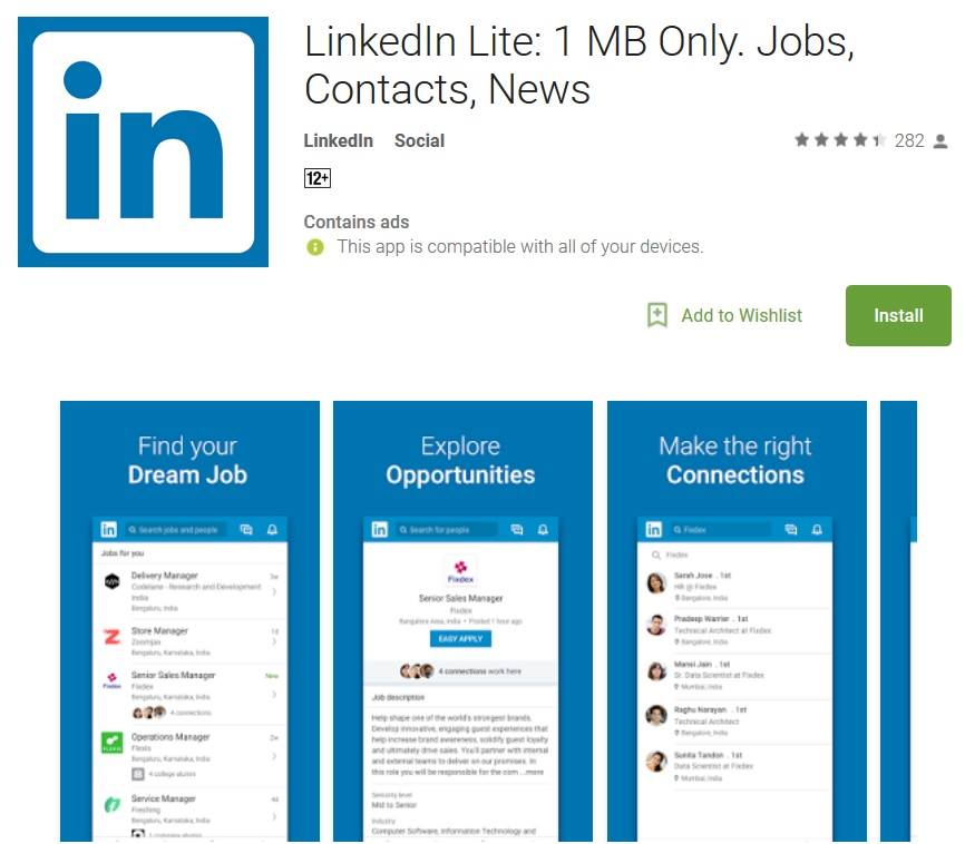 LinkedIn Lite App Now Available In Philippines; Makes Access Easier In Low Bandwidth Areas