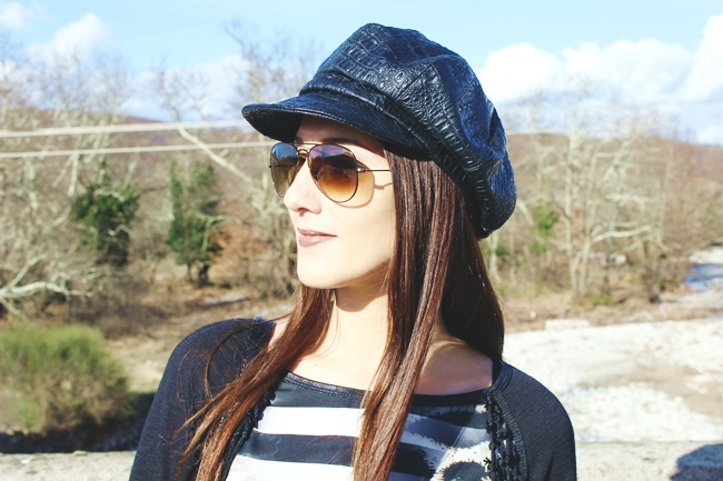 RayBan Aviator brown sunglasses