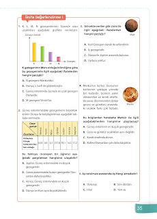 6. Sınıf Fen Bilimleri Ders Kitabı Cevapları Sevgi Yayınları Sayfa 35