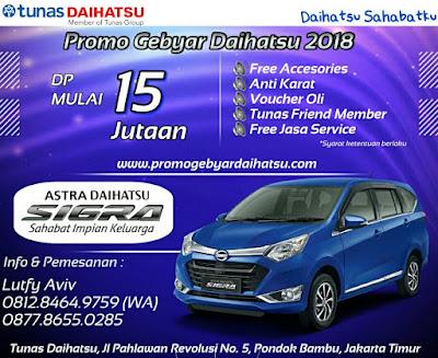 Promo Kredit Daihatsu Sigra 2018
