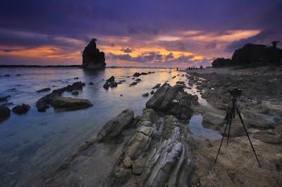 Sunset Sawarna