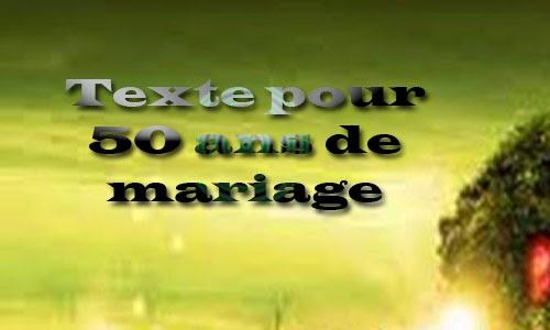 texte pour 50 ans de mariage invitation mariage carte. Black Bedroom Furniture Sets. Home Design Ideas