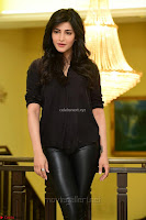 Shruti Haasan Looks Stunning trendy cool in Black relaxed Shirt and Tight Leather Pants ~ .com Exclusive Pics 039.jpg