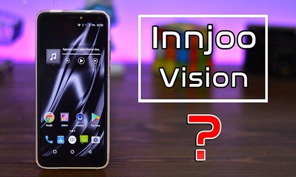 مراجعة هاتف Innjoo Vision - هاتف بدون حواف بمواصفات متوسطة وسعر رخيص جدا !!
