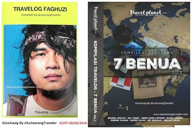 Travelog Faghuzi/Kompilasi Travelog 7 Benua GIVEAWAY By Aku