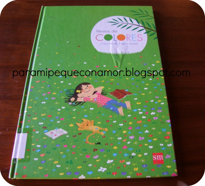 Versos De Libros: Para Mi Peque Con Amor: Versos De Colores